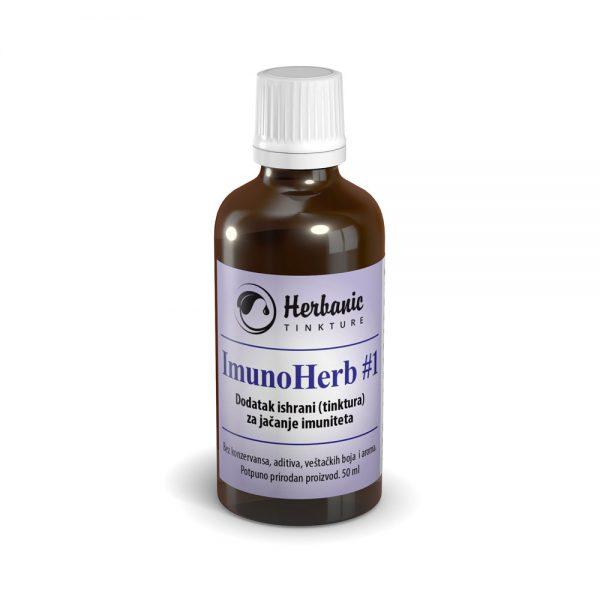 ImunoHerb #1 (Imuno #1) – dodatak ishrani (tinktura) za jačanje imuniteta