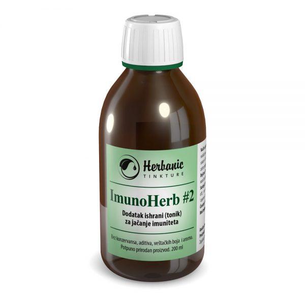 ImunoHerb #2 (Imuno #2) – supertonik za jačanje imunog sistema