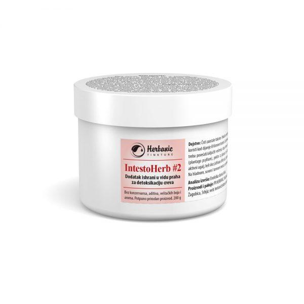 IntestoHerb #2 (Creva #2) – biljni prah za detoksikaciju creva