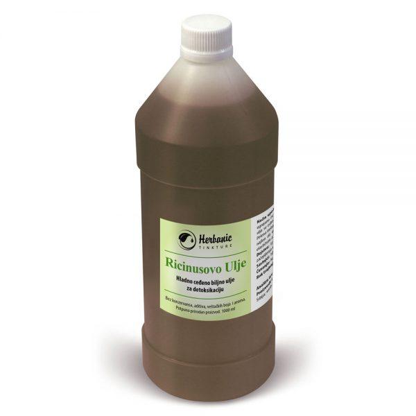 Hladno ceđeno ricinusovo ulje 1L