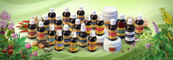 Kompletna ponuda biljnih tinktura i formula