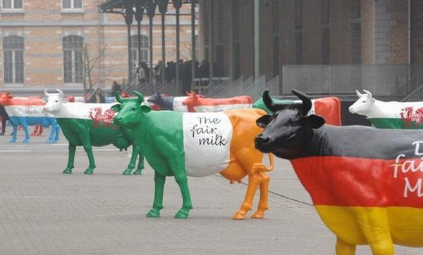 BELGIUM-EUROPEAN-MILK-BOARD-ACTION