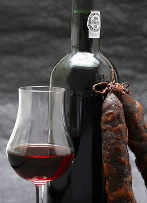 Port and chorizo