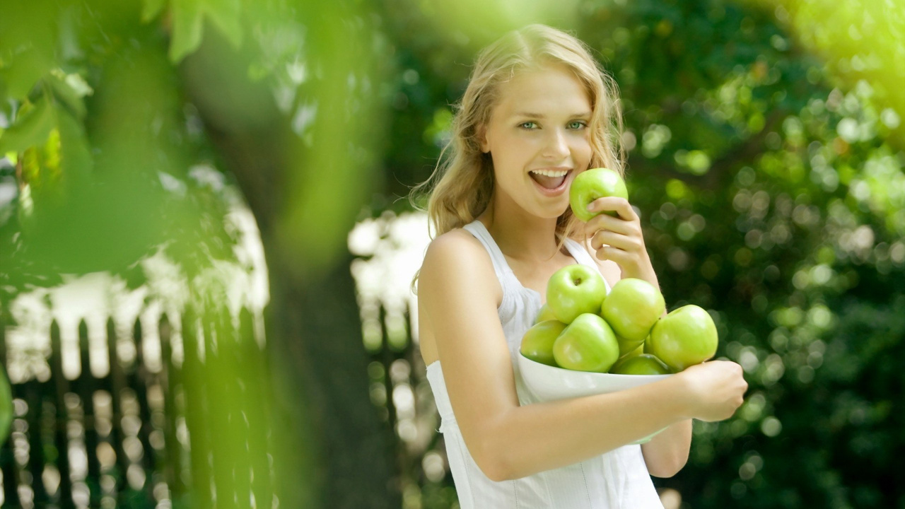 Green Apple Wallpapers HD 1280x720