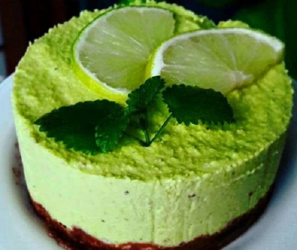 Sirova tortica od avokada i limete