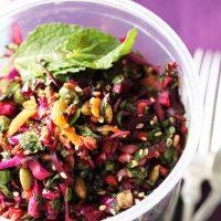 Salata od sirove cvekle i kupusa