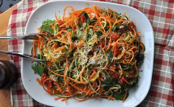 Špagete od povrća u umaku ala bolonjez