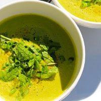 Sirova supa sa limunom i peršunom