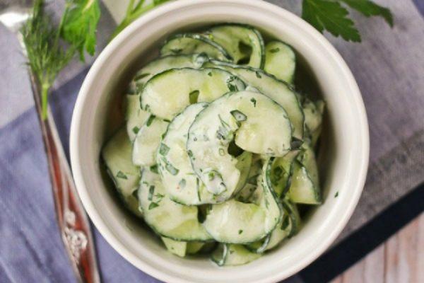 Lagane salate od krastavaca